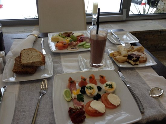 Hotel Rysy: Breakfast