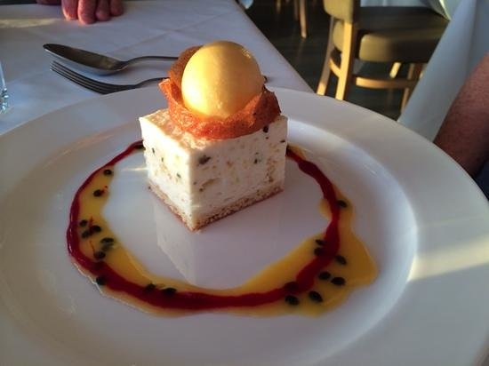 Sails on the Bay: one of the amazing desserts!