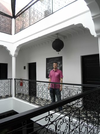 Riad Elizabeth: 1st floor courtyard balcony