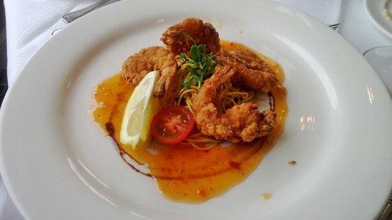 Glenview Hotel: Fried Tempura Prawns