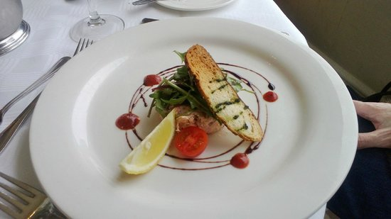 Glenview Hotel: Tian mixed seafood&Confit salmon