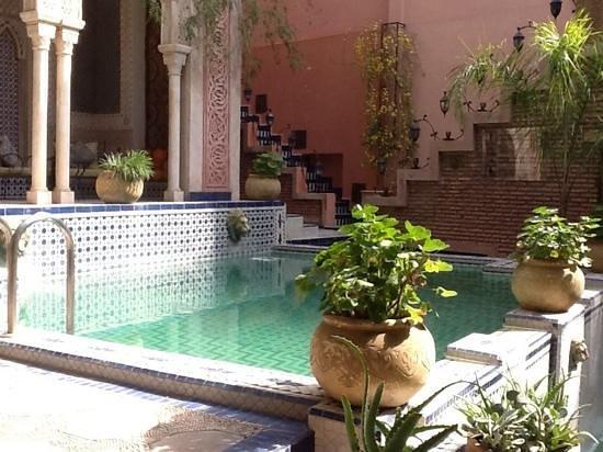 Palais Sebban: The courtyard pool