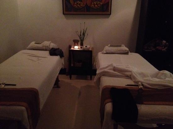 Nurture Wellness Village: massage room