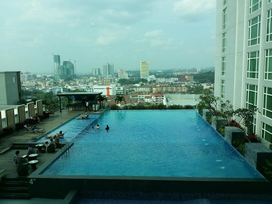 Hatten Hotel Melaka: Pool View from Room