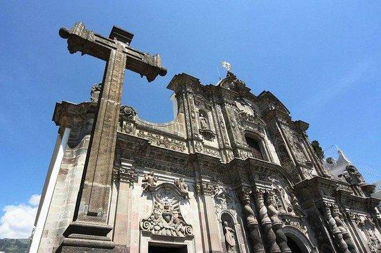 Iglesia de La Compania de Jesús: Снаружи храма