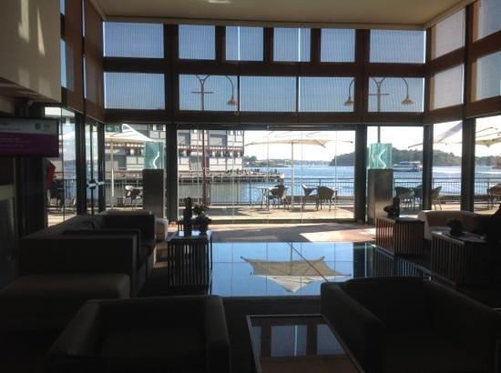 Pier One Sydney Harbour, Autograph Collection : Bar area with glass floor