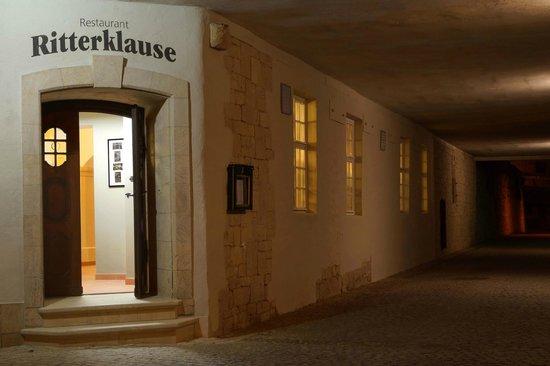 Ringhotel Mutiger Ritter: Eingang Ritterklause