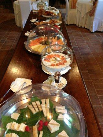 Relais Corte Guastalla: Frühstück
