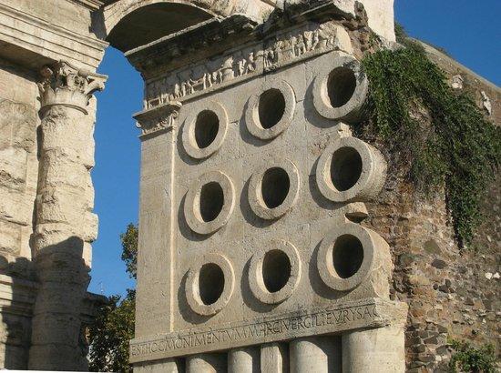 Porta Maggiore: Tomb of Eurysaces the Baker