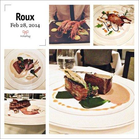 Roux at The Landau: Roux