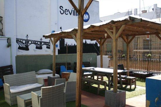 Sevilla Inn Backpackers: the roof...