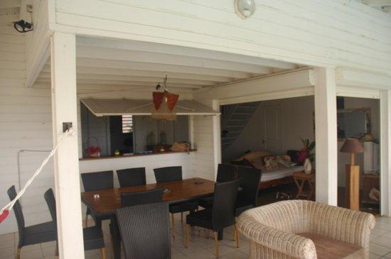 Reves en Iles: la terrasse