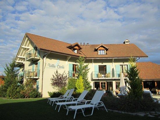 piscina picture of villa cecile yvoire tripadvisor. Black Bedroom Furniture Sets. Home Design Ideas