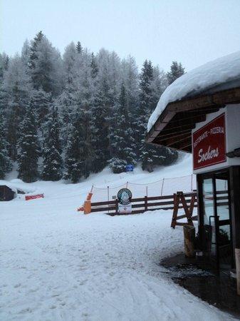 Hotel Sochers: Hotel magnifico en medio de la pistas de esqui !