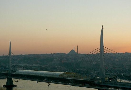 Istanbul Golden City Hotel: view  on metro station on a bridge near hotel1