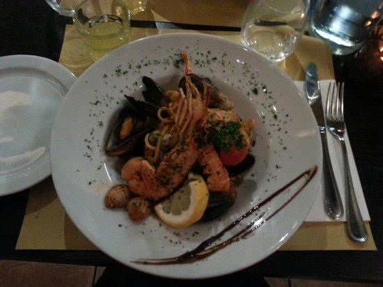 Enoteca Barberini: deliciouse pasta with frutti di mare