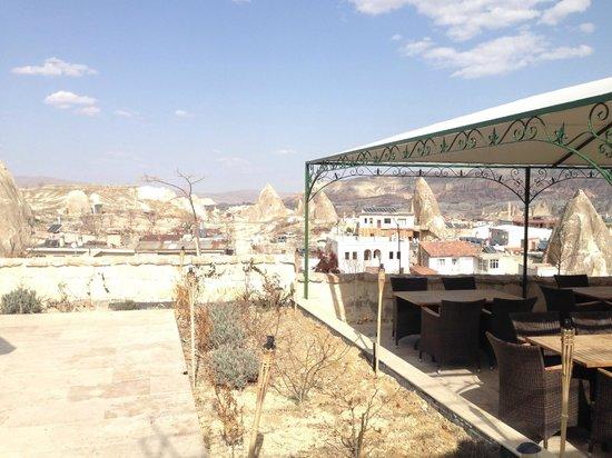 Doors Of Cappadocia Hotel: Терраса
