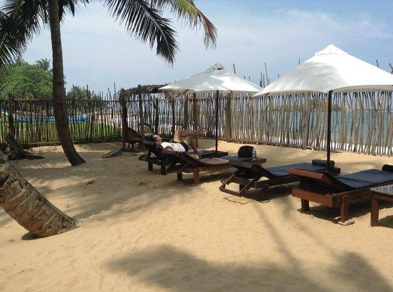 Cocovilla-Resort : Jardines delante de la playa