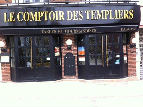 Menu photo de le comptoir des templiers noyon tripadvisor for Le comptoir du meuble bruxelles