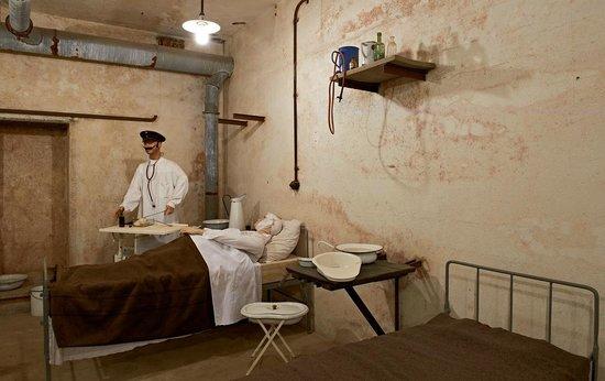 Fort de Mutzig : L'hôpital du Fort