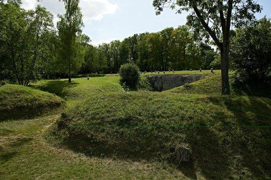 Fort de Mutzig : Le Fort vu de l'extérieur