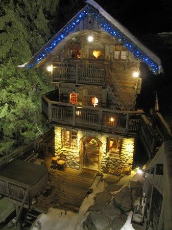 L 39 une des vues depuis le cahlet picture of les chalets de philippe cha - Les chalets de philippe chamonix ...