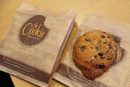 Double Tree by Hilton Naha: Welcome Cookies