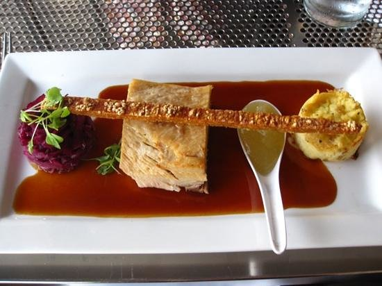 Pee Wee's At The Point : Pick of the mains - the succulent pork belly