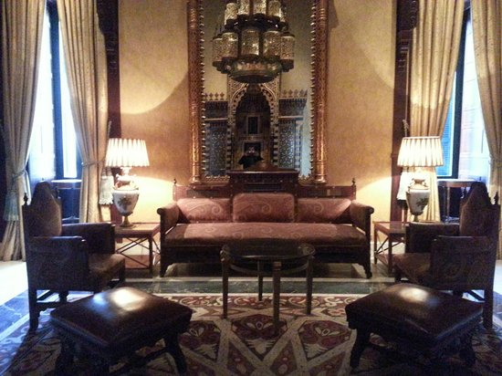 Cairo Marriott Hotel & Omar Khayyam Casino: Hotel Interior