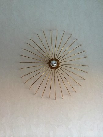Hagia Sophia Hotel Istanbul Old City: The wall sconce in my room, unlit at daytime