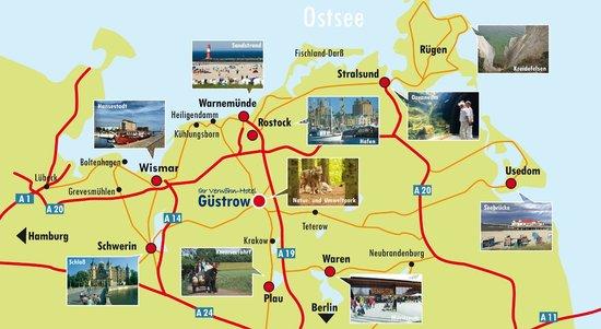 Hotel Altstadt: Ausflüge zu allen Sehenswürdigkeiten im Lande