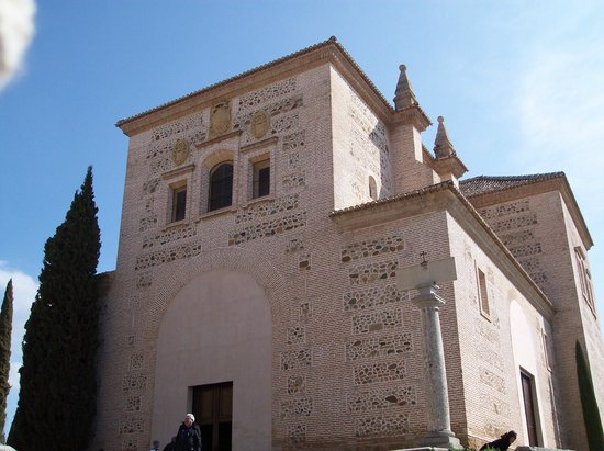 Church of Santa Maria de la Alhambra: Outside church