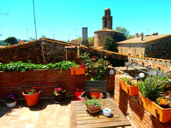 Casa Matilda Bed and Breakfast: vistas terraza