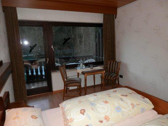 Hotel Wiedfriede: CHAMBRE-TERRASSE