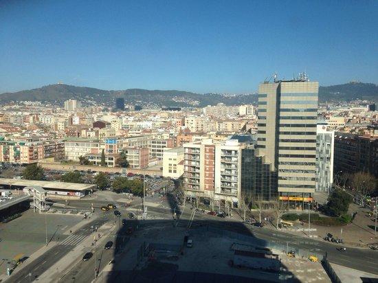 Gran Hotel Torre Catalunya : View from 14th floor