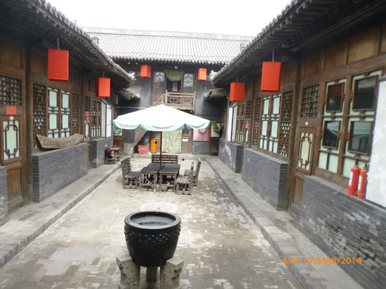 Zhengjia International Youth Hostel: Typical Courtyard