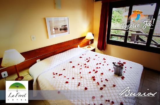 Hotel La Foret: Quarto Std lua de mel