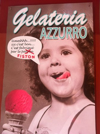 gelateria azzurro : Mais toujours aussi bonnes !!!