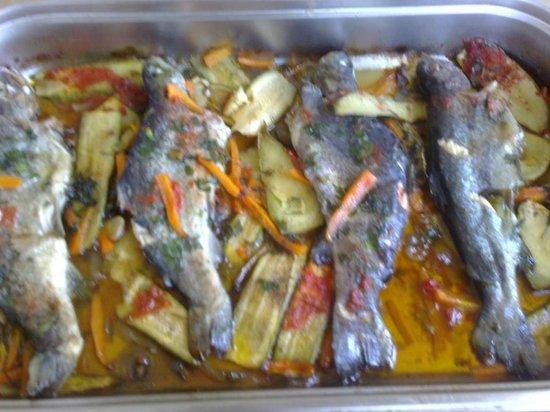 En Hatipi : Fish in the oven