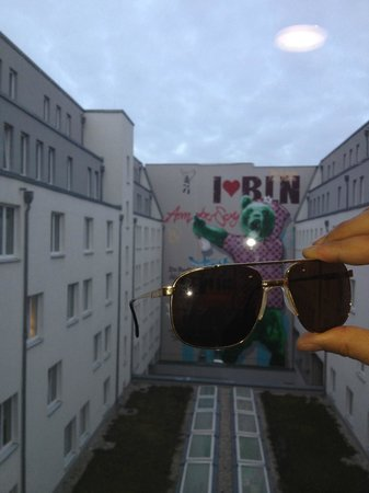 Tryp Berlin Mitte Hotel: view from the hotel