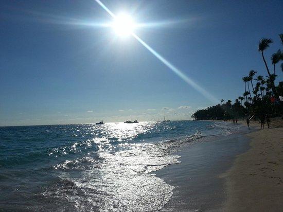 Grand Palladium Punta Cana Resort & Spa: Praia