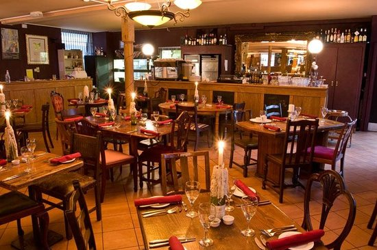 Kendells Bistro: Kendells Dining Tables with candles