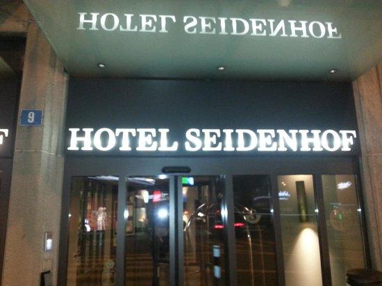 Sorell Hotel Seidenhof: The entrance