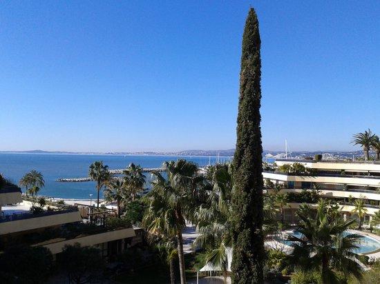Holiday Inn Nice - Saint Laurent Du Var : Vu depuis notre terrasse