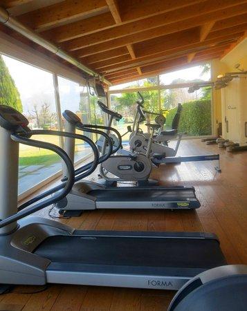 Park Hotel Delta Wellbeing Resort: Fitnessraum mit mondernsten Geräten