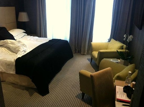 The Beaufort Hotel: our lovely room