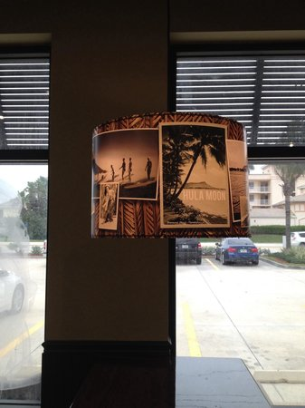 Hula Moon: Cool looking l& shades! & Cool looking lamp shades! - Picture of Hula Moon Indian Harbour ...