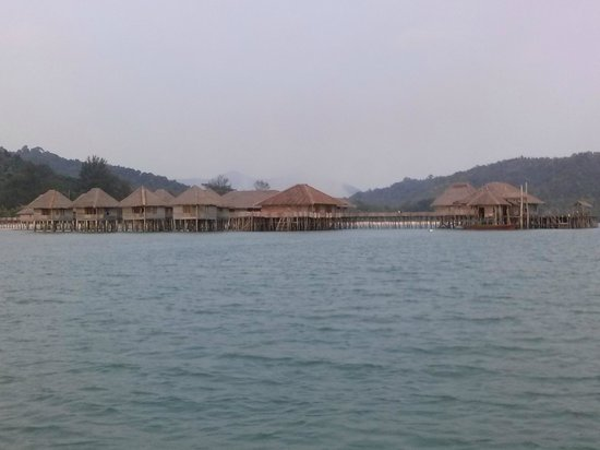 Telunas Beach Resort : How Telunas will welcome you as you enter...