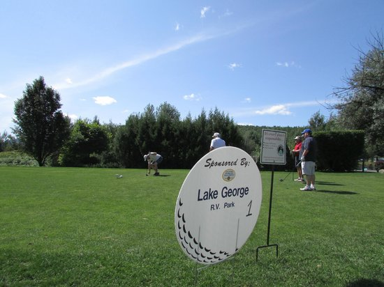 Lake George RV Park : Lake George Rotary Golf Tourney Aug 2013; thank you again Dave and family