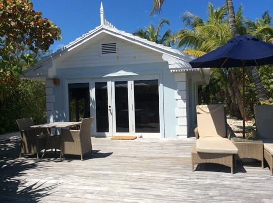 Pink Sands Resort: exterior of room